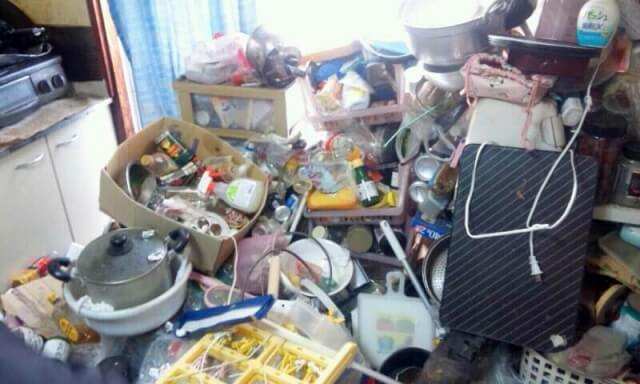 名古屋市瑞穂区にてゴミ部屋清掃 S様