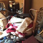 ゴミ部屋清掃を東区にて実施