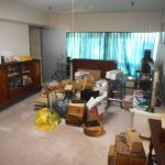 名古屋市中区の高層マンションにて整理作業