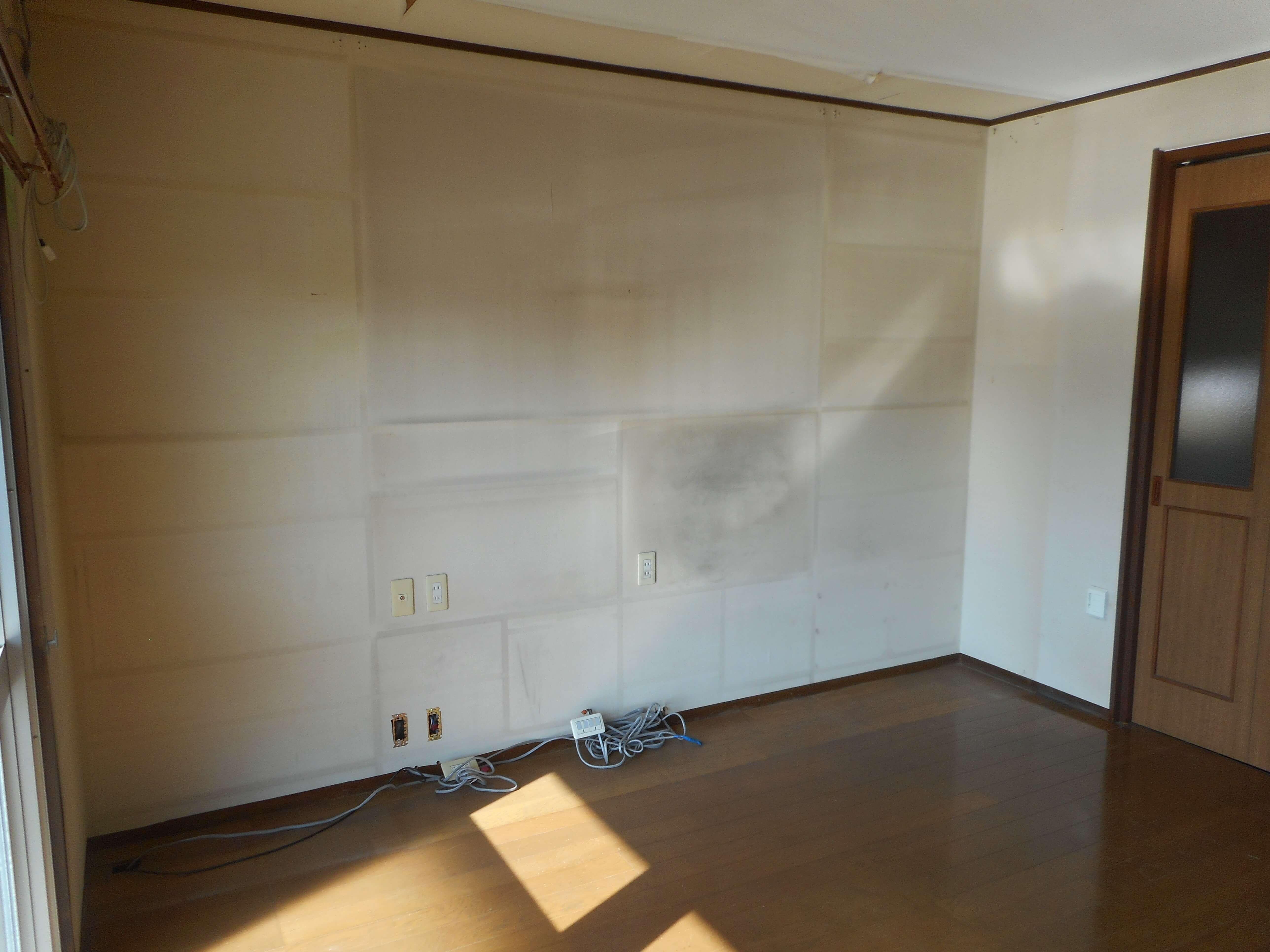 家財整理後の部屋の様子