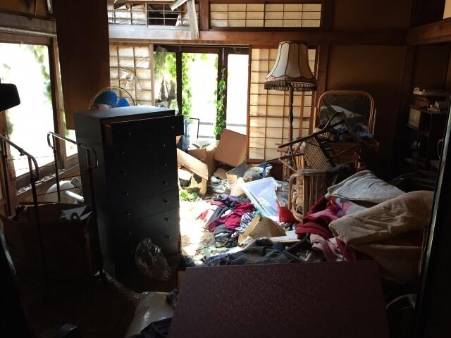 昭和区にて空き家整理を行いました。