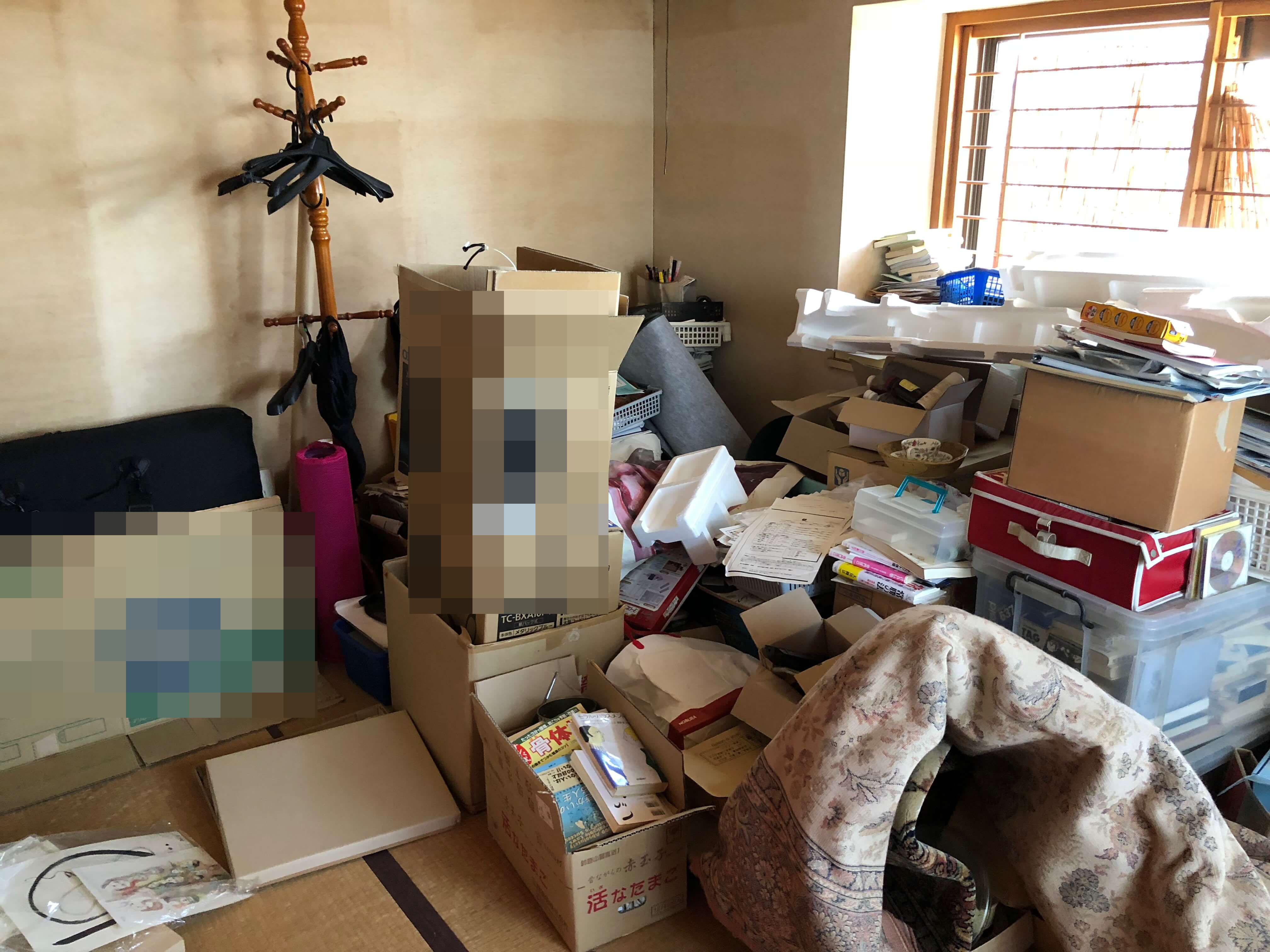 名古屋市東区にてマンションの不用品回収を行いました。