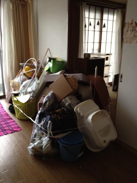 豊田市でマンションの家財整理